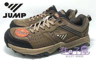 【零碼出清-25.5/28號】JUMP將門 男款防潑水抗菌防臭輕量運動越野跑鞋 [3218] 棕 超值價$690