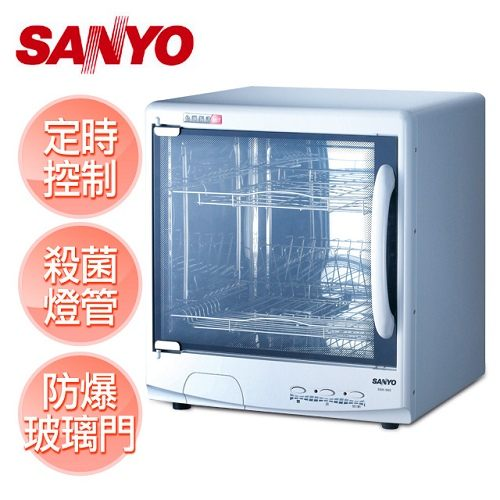 【三洋 SANLUX】雙層微電腦烘碗機 /SSK-560