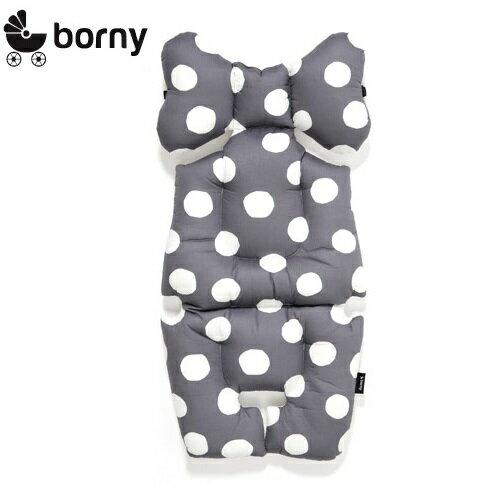 【新色上市】韓國【 Borny 】韓國【Borny】全身包覆墊(推車、汽座、搖椅適用)(灰麥町)
