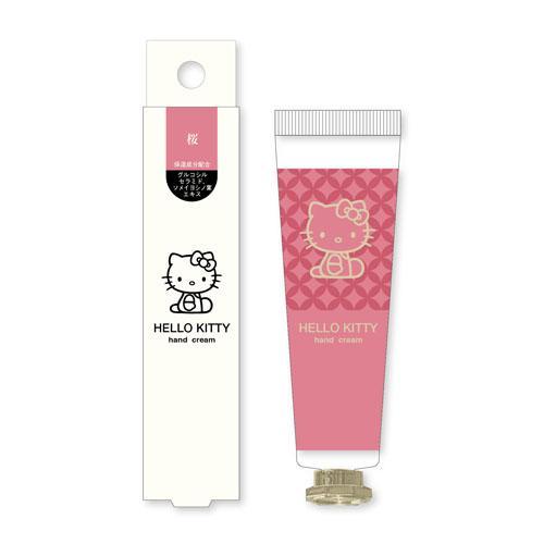 日本 Hello Kitty櫻花牡丹香味 護手霜 30g