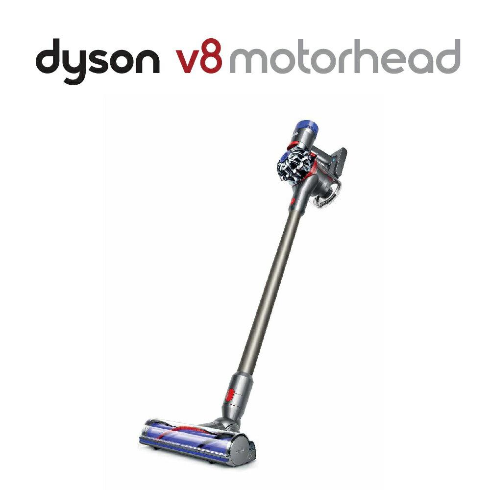 <br/><br/>  【dyson】V8 fluffy SV10 無線吸塵器(銀) 限量福利品<br/><br/>