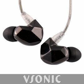 志達電子 VSD3 非換線式 黑色 鍍銀線升級版 VSONIC 耳道式耳機 公司貨 保固一年