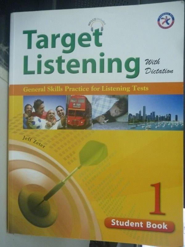 【書寶二手書T2/語言學習_WEM】TARGET LISTENING STUDENT BOOK 1_附光碟