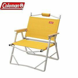 [ Coleman ] 輕薄摺疊椅 黃 / 休閒椅/ 公司貨 CM-F508