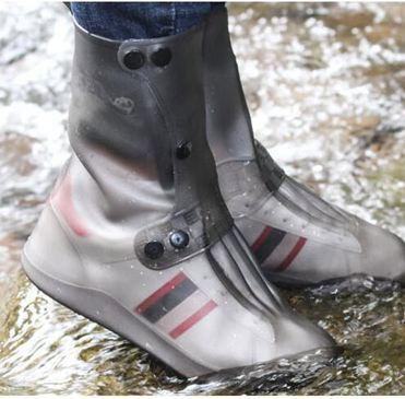 防雨鞋套 男女學生加長防水戶外騎行防雨加厚冬季防雪防滑輕便雨鞋套