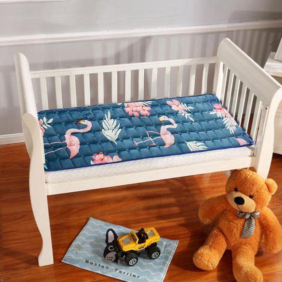 床墊 【可定制】法蘭絨寶寶幼兒園午睡毛毯墊被兒童兒童床褥子水洗床墊
