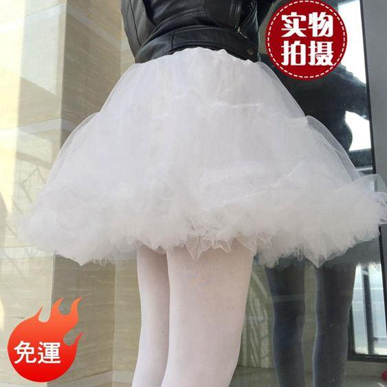 裙撐 lolita軟紗裙撐A字日常暴力軟紗無骨裙撐襯裙半身裙蓬蓬裙cosplay