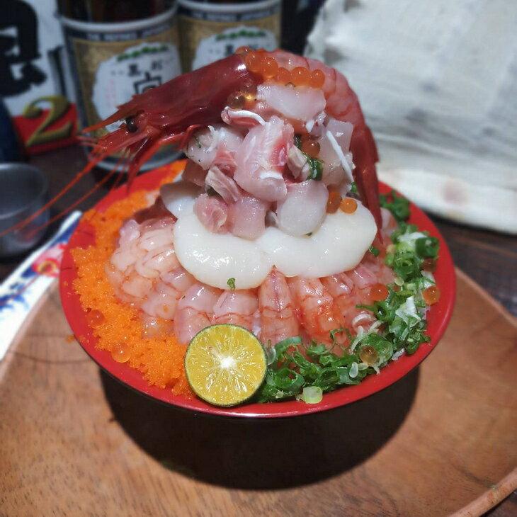 干貝甜蝦火山丼一人份【南京店限定】★電子票券★餐券★ 1