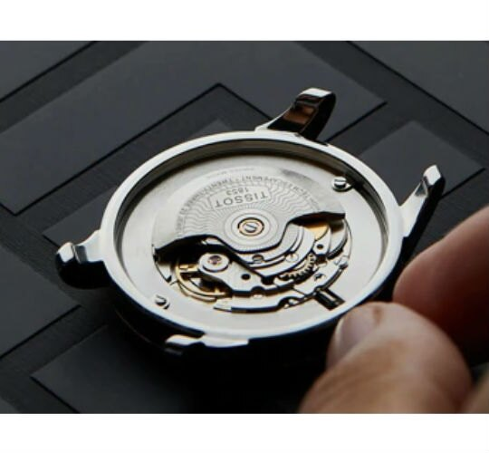 TISSOT 天梭表 T1204173705101 SEASTAR 1000 CHRONOGRAPH 海洋之星潛水機械腕錶 / 黑 45.5mm 4