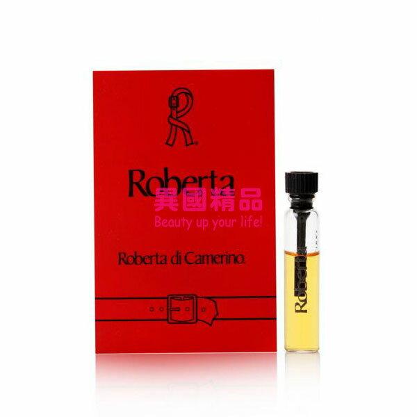 異國精品:RobertadiCamerinoRoberta女性針管香水1mlEDPSAMPLEVIAL【特價】§異國精品§