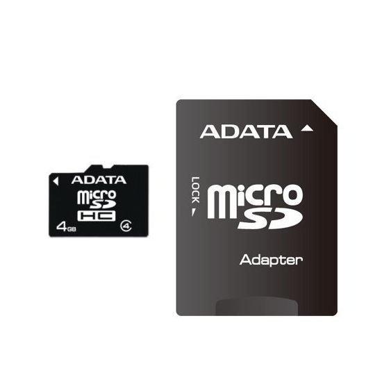 【新風尚潮流】威剛記憶卡 4G 4GB MicroSDHC Class 4 C4 AUSDH4GCL4-RA1