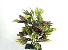 ★超低價★2尺變葉木(152葉)人造花空間景觀佈置造景
