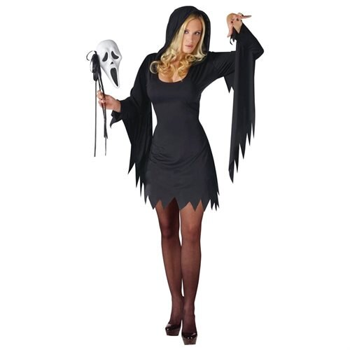 Ghost Face Female Adult Costume