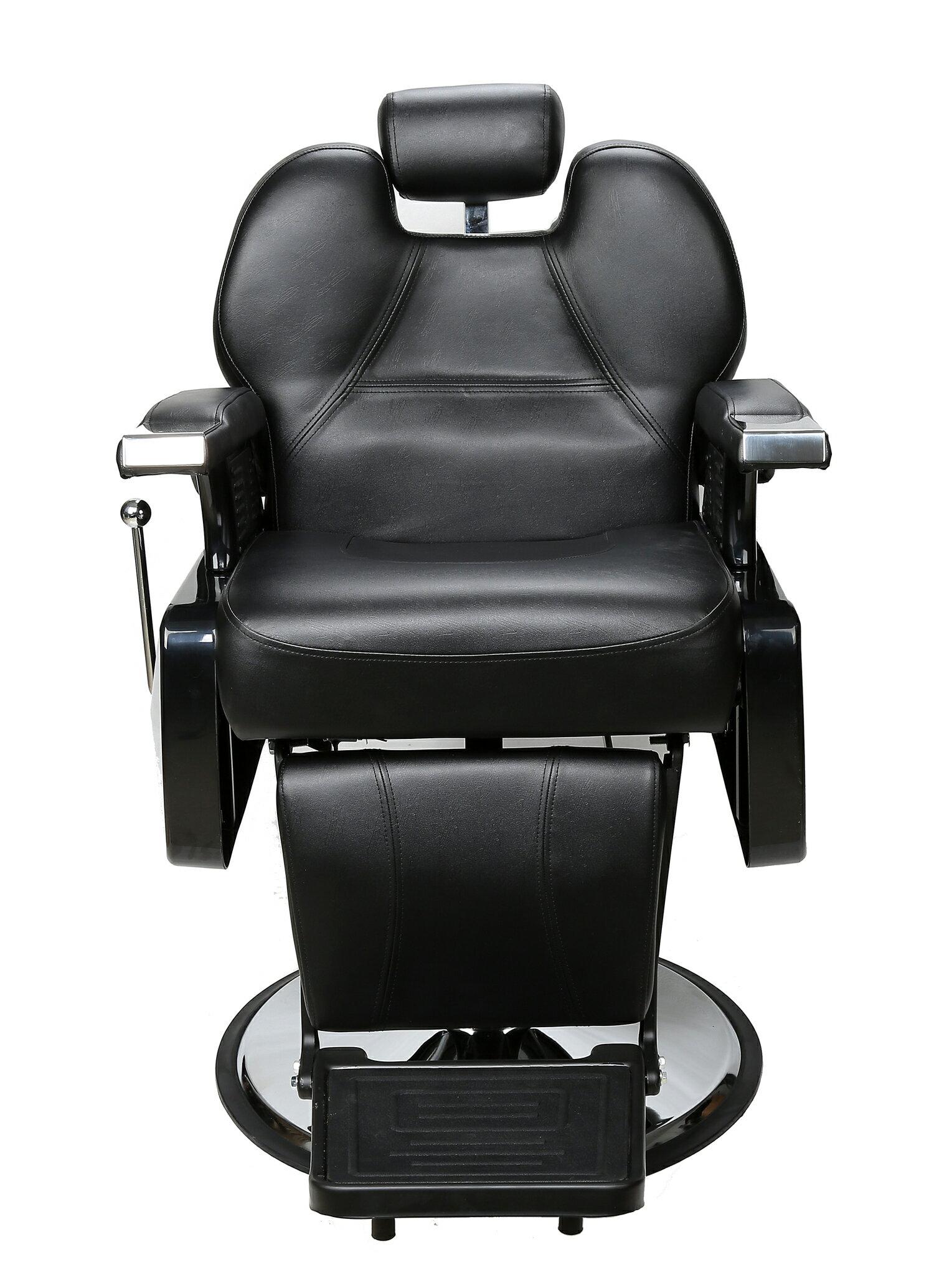 BarberPub All Purpose Hydraulic Recline Salon Beauty Spa Styling Barber Chair Black 1