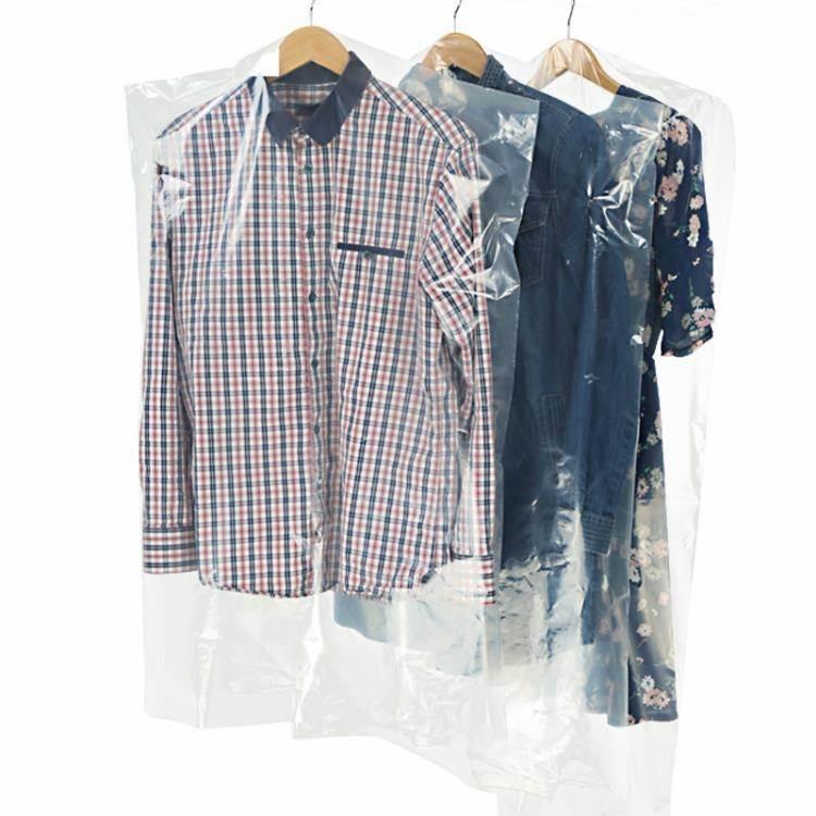 壓縮袋 防塵袋衣罩衣服防塵罩透明加厚塑料衣物收納袋干洗店用一次性套袋 8號店WJ
