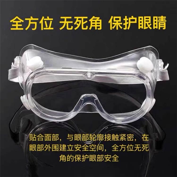四孔護目鏡眼罩西安發貨保護防塵透氣防風沙騎行遮擋污染 熱銷