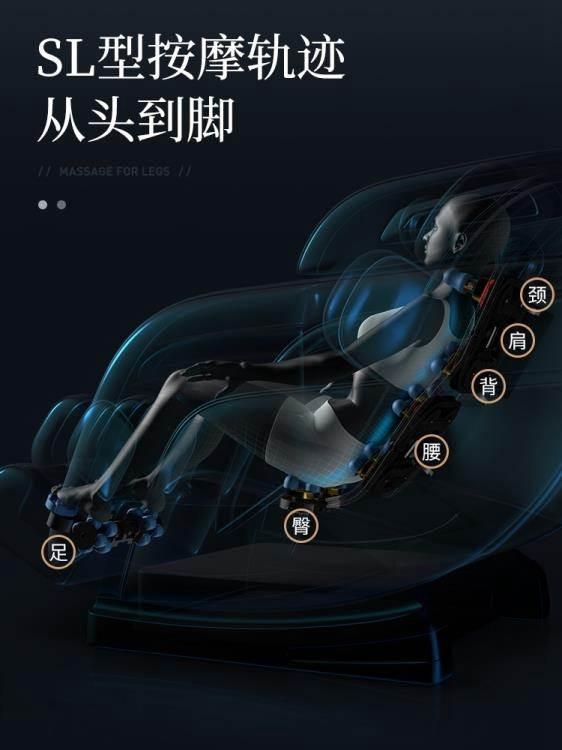按摩椅 德國佳仁新款電動8D按摩椅家用全自動全身多功能太空豪華艙零重力 WJ
