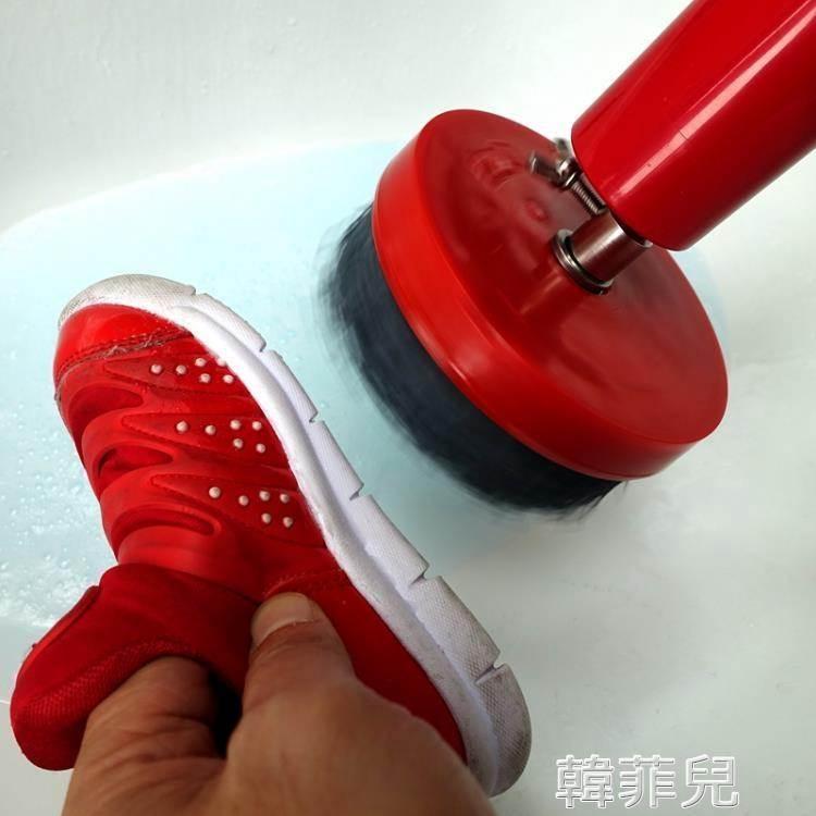 擦鞋機 電動擦鞋機電動洗鞋機擦鞋機洗鞋器家用手持鞋刷自動洗鞋機器刷鞋 mks