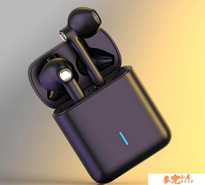 iKF Find真無線藍芽耳機5.0雙耳無線單掛半入耳塞式運動跑步一對通適用蘋果華為男女 NMS