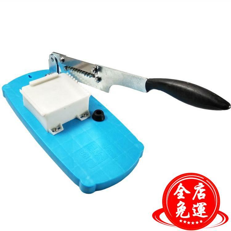 阿膠糕切刀專用切片機家用工具小型切年糕牛軋糖刀藥材手動不銹鋼WD 下殺優惠