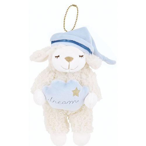 日本代購預購 睡睡羊 小綿羊 羊咩咩 蓬鬆舒適 小玩偶吊飾 娃娃吊飾 876-627 20