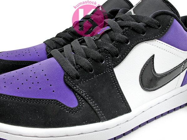 2019 經典重現 復刻鞋款 NIKE AIR JORDAN 1 LOW COURT PURPLE 低筒 白黑紫 黑紫腳趾 AJ (553558-125) ! 2