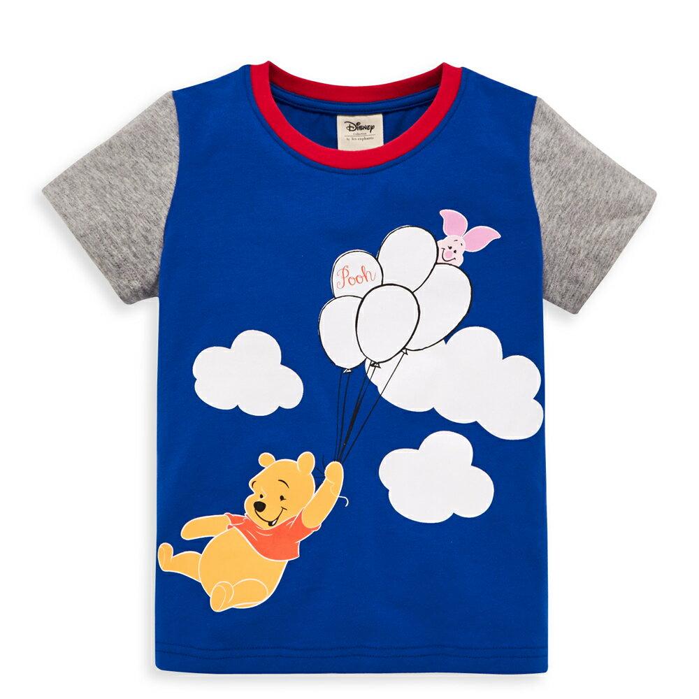Disney baby 維尼系列飛行短袖上衣-紅色