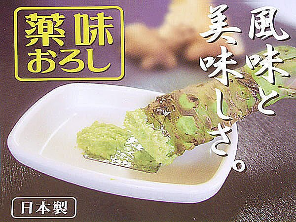BO雜貨【SV3615】日本製 WASABI 山葵 芥末醬 生薑 人蔘 磨具 磨泥器 搗泥器