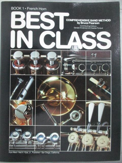 【書寶二手書T8/音樂_QIN】Best in Class_book1.French Horn_Bruce Pearso