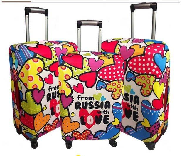 來福,H181行李箱保護套彩色心情防刮痕耐磨彈力箱套拉杆箱旅行搬運箱套防塵套,S號售價299元