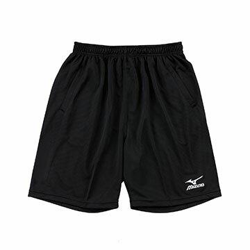 V2TB7A0709 (黑)高透氣吸汗快乾 男素色長版排球褲 【美津濃MIZUNO】