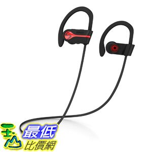[7美國直購] 耳機 SENSO Headphones Best Sports Earphones w/Mic IPX7 Waterproof HD Stereo B0792QJQT1