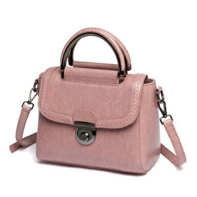 手提包真皮肩背包-日韓時尚優雅熱銷女包包2色73se12【獨家進口】【米蘭精品】