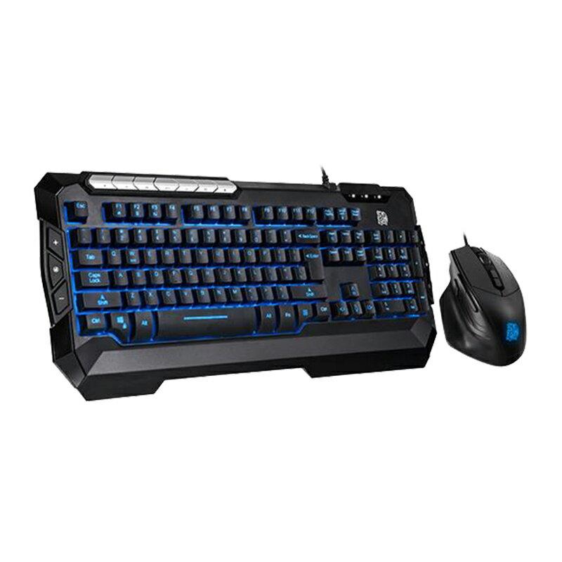 [免運速出] Tt eSPORT 曜越 軍令官 V2 電競鍵鼠組 有線背光 類機械式 電競鍵盤 鍵盤滑鼠組 PCHot