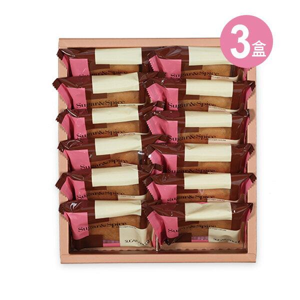 【糖村SUGAR & SPICE】義式咖啡薄捲餅12入禮盒X3盒(含運費)