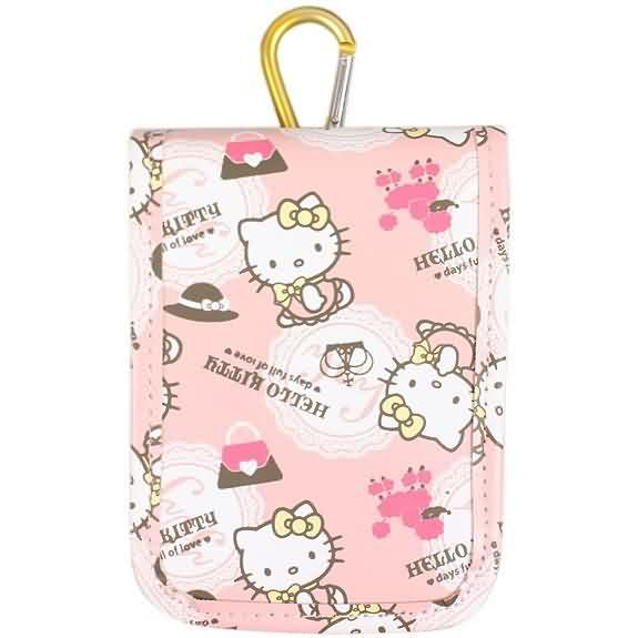 X射線【C765496】Hello Kitty 手機袋(粉),美妝小物包 / 媽媽包 / 面紙包 / 化妝包 / 零錢包 / 收納包 / 皮夾 / 手機袋 / 鑰匙包 0
