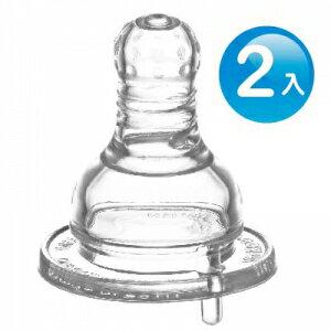 『121婦嬰用品館』KUKU 防脹氣母乳型奶嘴 - 標準十字L 2入 0
