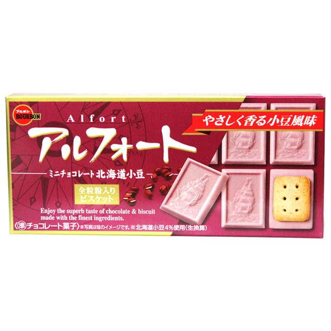 Bourbon 北日本船型紅豆巧克力餅