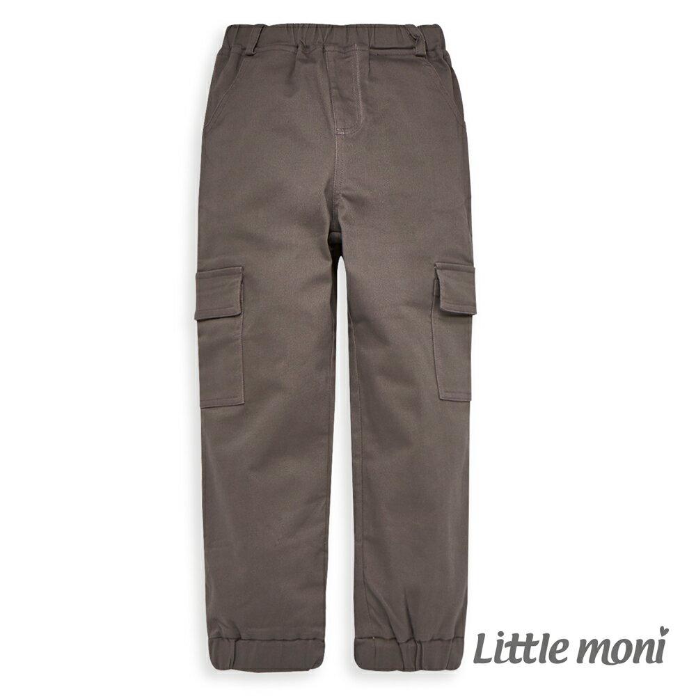 Little moni 個性束口工作褲-鐵灰(好窩生活節) - 限時優惠好康折扣