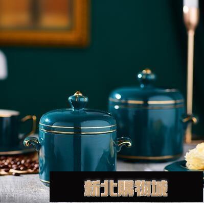 陶瓷燉盅帶蓋蒸燉罐湯盅家用燕窩隔水燉煲湯內膽壹人多人份燉碗 【元旦新年慶】