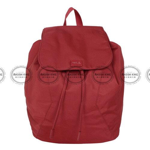 Outlet代購 agnes.b 亞洲限定款 後背包 小b (紅色) 二 色 書包 通勤包 雙肩包 斜挎包 防水 0
