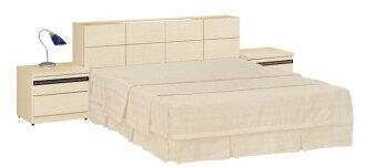 【尚品家具】JF-029-4 5尺白橡雙人床底(不含床墊)(全封式)
