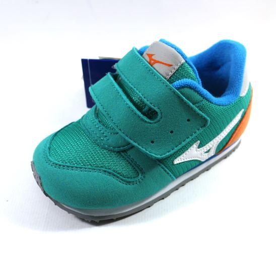 [陽光樂活] MIZUNO 美津濃 幼兒鞋 TINY RUNNER 4 - K1GD163201 蒂芬妮綠