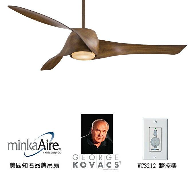 <br/><br/>  [top fan] MinkaAire Artemis 58英吋吊扇附燈(F803-DK)相思木色<br/><br/>