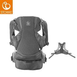 【新色涼感灰新上市】挪威【Stokke】My Carrier 三合一揹巾組/背帶/背巾(前揹巾+後揹巾)-6款