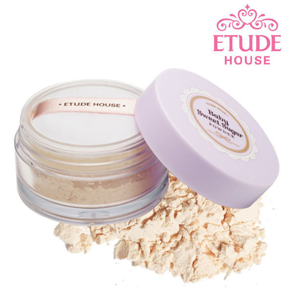 <br/><br/> Etude house baby嬰兒肌蜜糖淨透蜜粉5g【AN SHOP】<br/><br/>