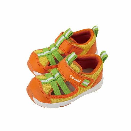 Combi 康貝 夏日氣息幼兒機能涼鞋-暖陽橘【悅兒園婦幼生活館】