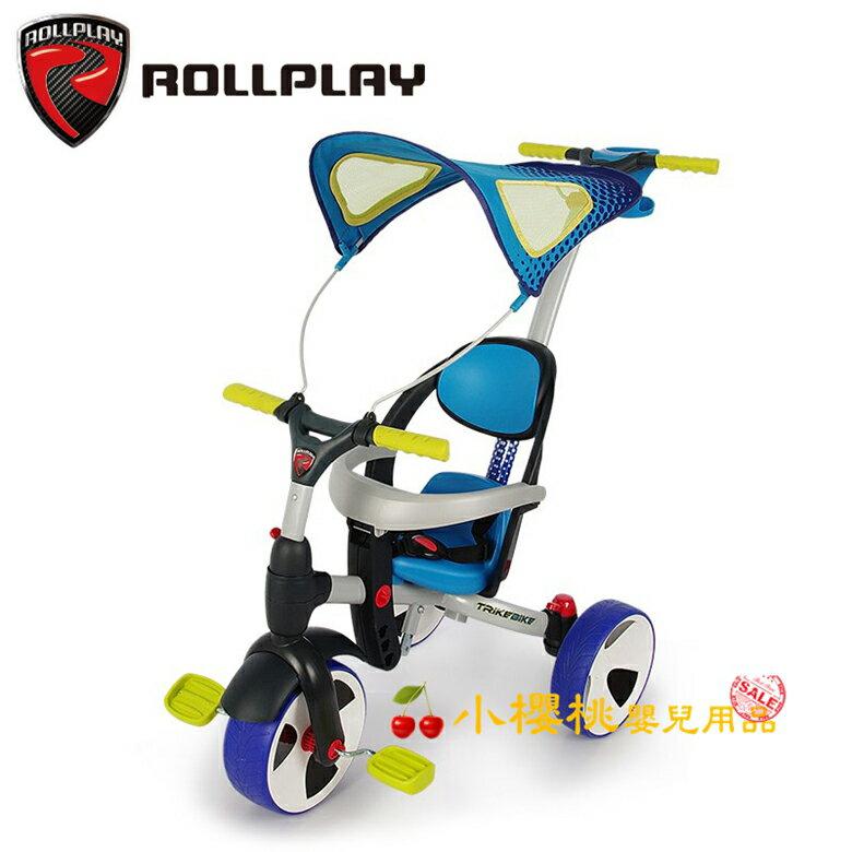 ROLLPLAY--四合一多功能兒童三輪車 平衡車 腳踏車