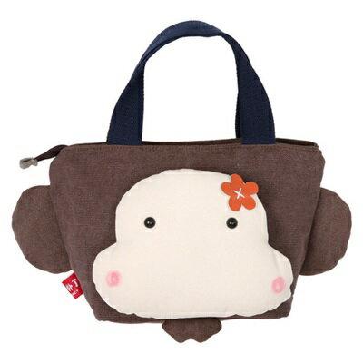★帆布包猴子手提包-可愛動物休閒立體女包包3色73pp258【獨家進口】【米蘭精品】