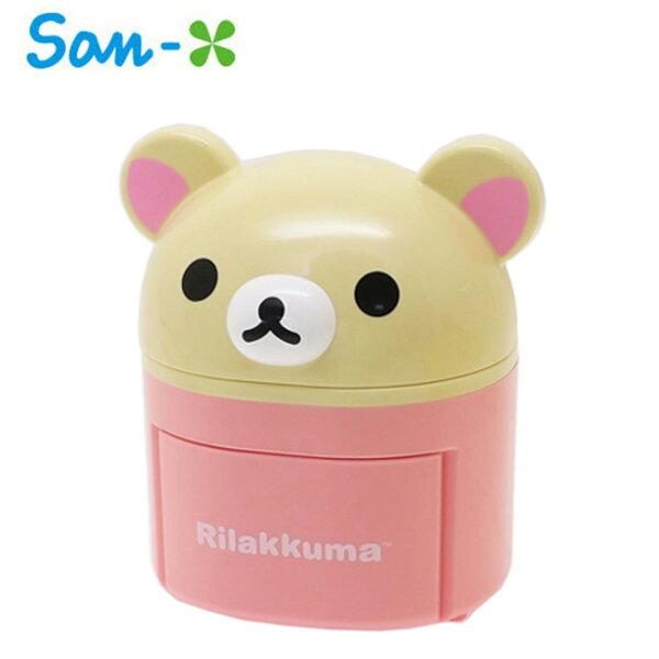懶熊妹款【日本正版】拉拉熊小物收納盒抽屜盒桌面收納懶懶熊RilakkumaSan-X-030515